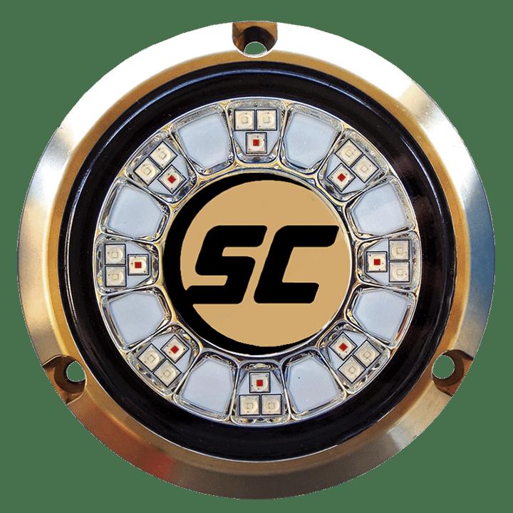 Shadow-Caster 24 led round underwater marine light SCR-24