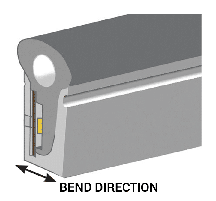 Shadow-Caster Marine LED Lighting SCM-AL-NEON Bend Direction