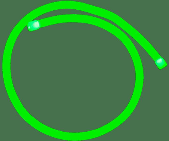 Shadow-Caster Marine LED Lighting SCM-AL-MINI-NEON GREEN Above Water Light
