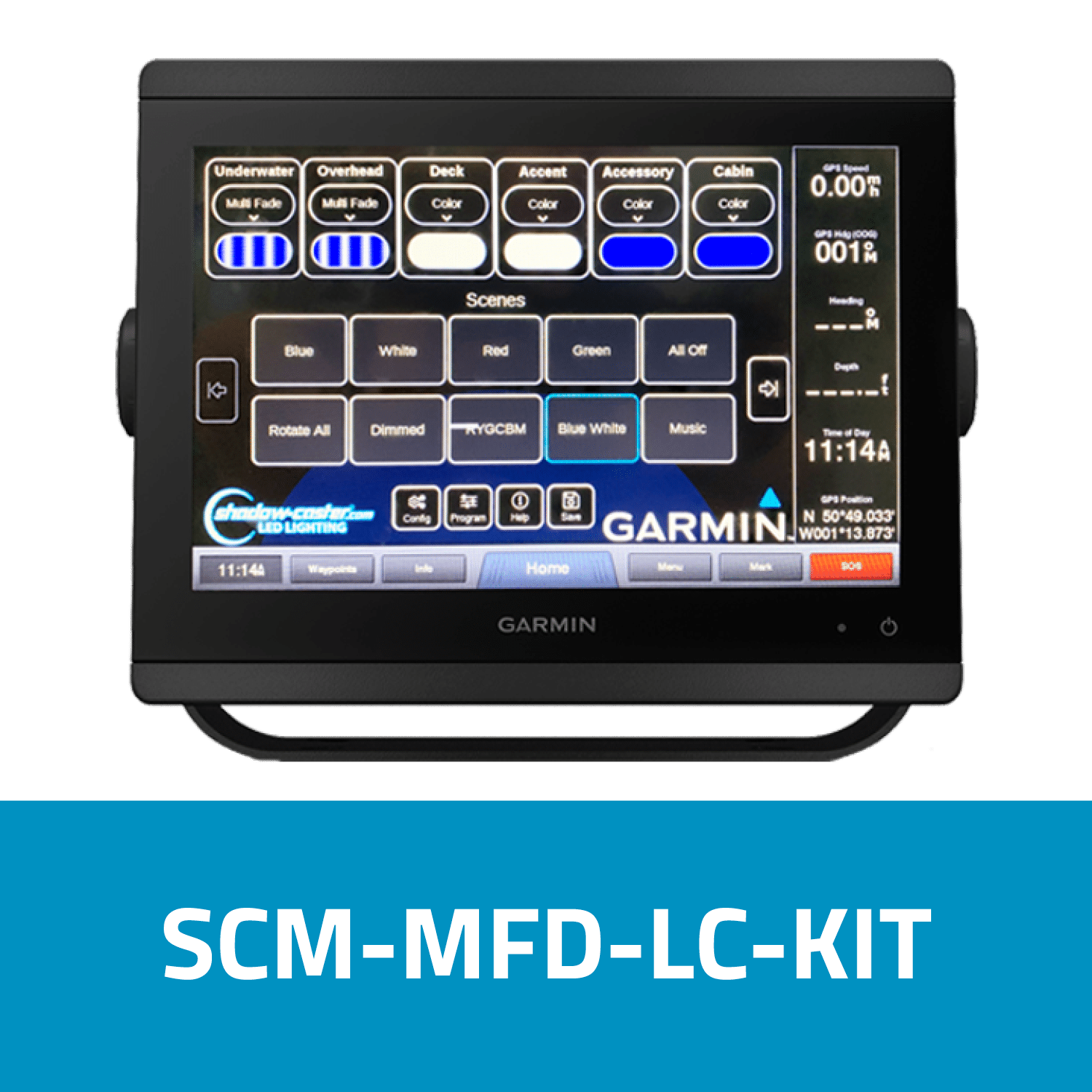 Shadow-Caster Marine LED Lighting SCM-MFD-LC-KIT
