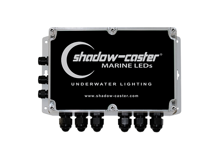 Shadow-Caster Marine LED Lighting SCM-PD 6 POSITION POWER DISTRIBUTION BOX