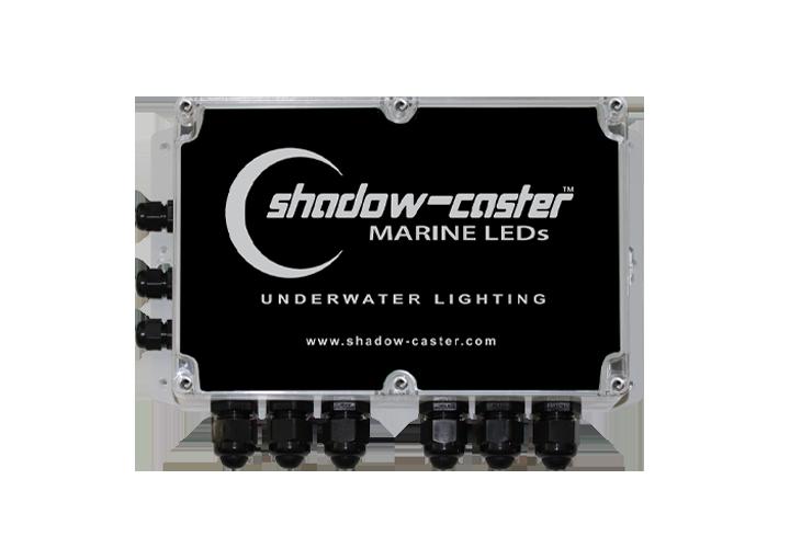 Shadow-Caster Marine LED Lighting SCM-PD 6 POSITION POWER DISTRIBUTION BOX