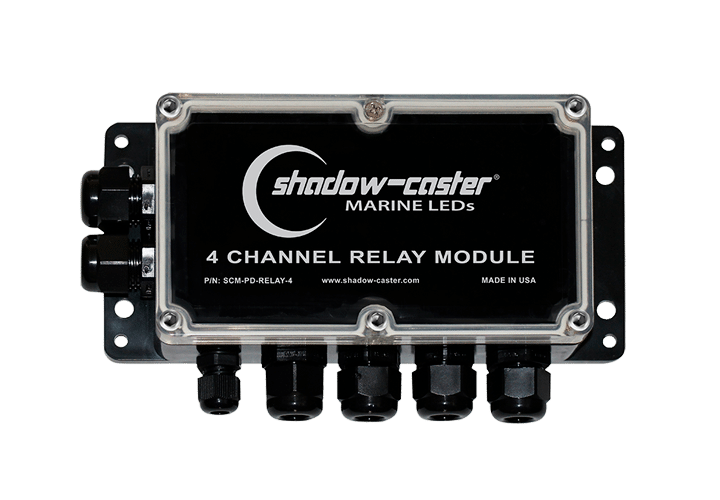 Shadow-Caster Marine LED Lighting SCM-PD-RELAY-4