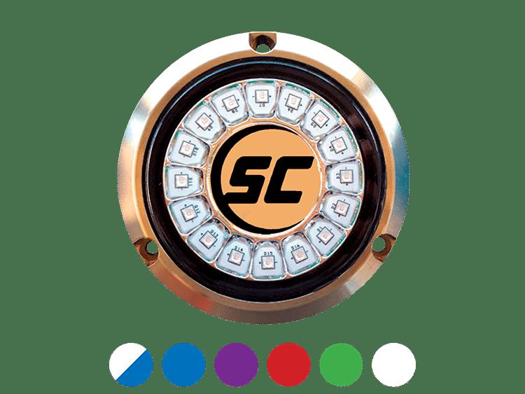 SCR-16 round underwater marine LED light